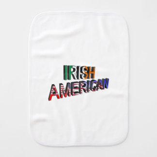 Texte Irlandais-Américain pour le linge de bébé