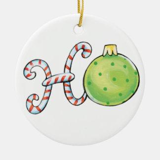 Texte mignon de Noël, Ho en ornements de sucres de