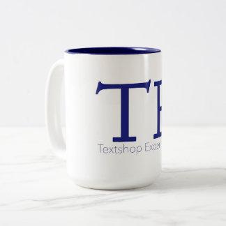 Textshop expérimente tasse de café