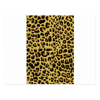 Texture de Jaguar Cartes Postales
