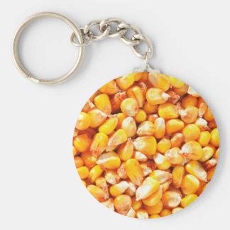 Texture de maïs porte-clés