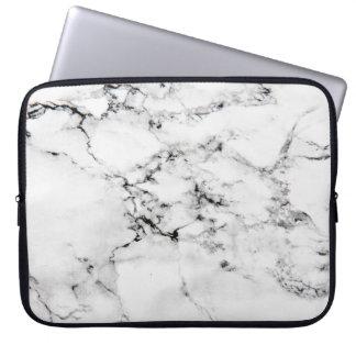 Texture de marbre housse pour ordinateur portable