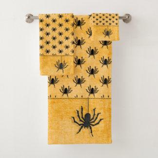 Texture énorme d'orange de motif d'araignée de