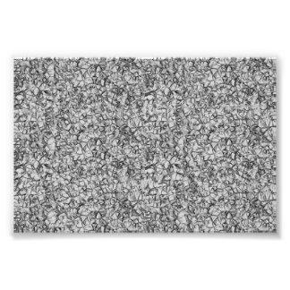 texture géométrique moderne grise abstraite de impression photo