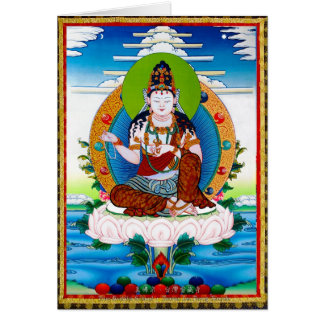 Thangka tibétain oriental frais Mahacakravajra Carte
