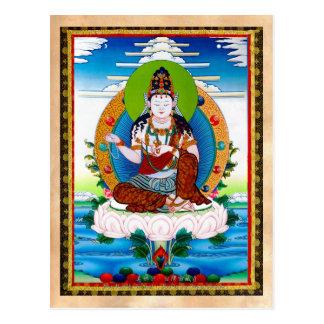 Thangka tibétain oriental frais Mahacakravajra Cartes Postales