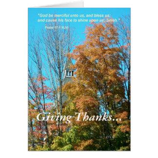 Thanksgiving Carte