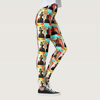Thanksgiving d'art moderne leggings