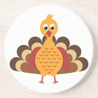 Thanksgiving Turquie Dessous De Verre En Grès