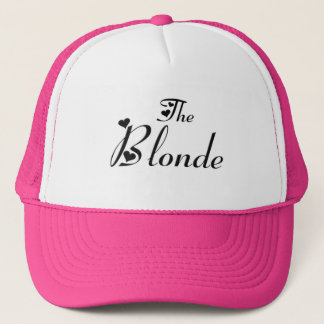 The blonde cap casquette