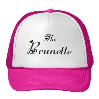 The brunette cap casquette de camionneur
