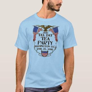 Thé de jour de 2010 impôts t-shirt