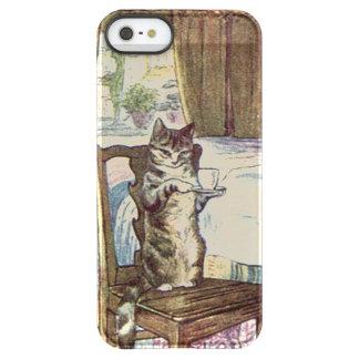 Thé de portion de chat - Beatrix Potter Coque iPhone Permafrost® SE/5/5s