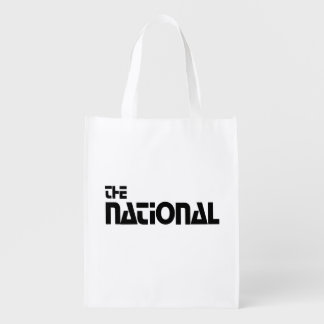 The National - Habillage promotionnel (1980) Cabas Épicerie