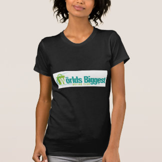 The Worlds Biggest: Women's Fitted Tee Black