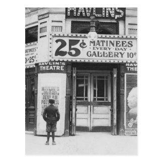 Theatre de Havlin, 1910 Carte Postale