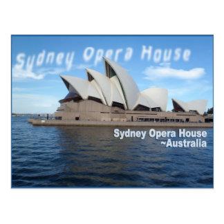 Théatre de l'opéra de Sydney - Australie - voyage Carte Postale