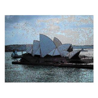 Théatre de l'opéra de Sydney Cartes Postales