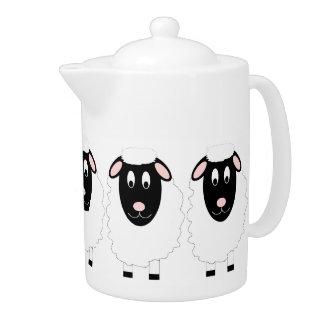 Théière de moutons