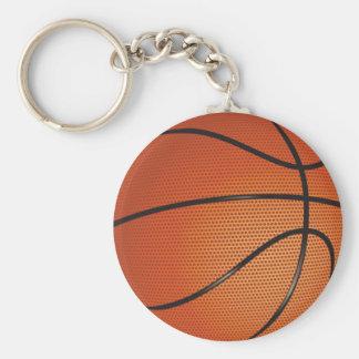 Thème de basket-ball porte-clé rond