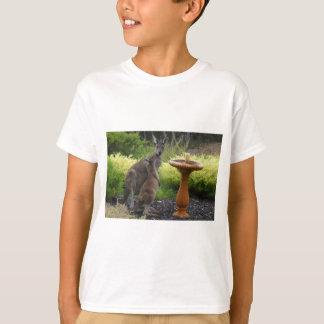 Thème de kangourou t-shirt