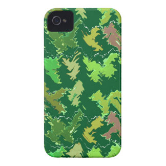Thème vert : Les militaires camouflent le motif de Coques iPhone 4 Case-Mate