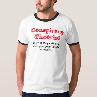 Théoricien de conspiration t-shirt