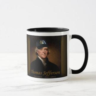Thomas Jefferson A GAVÉ la tasse