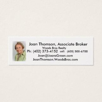 Thomson.Joan, Joan Thomson, Verwante Makelaar, W… Mini Visitekaartjes