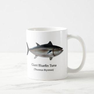 Thon de thonine géant mug blanc