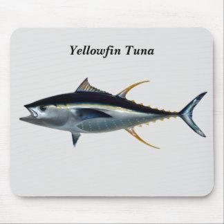 Thon de truite saumonnée tapis de souris