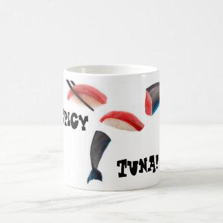 Thon, heu sushi de dauphin mug
