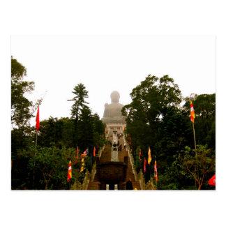 Tian Tan Bouddha Cartes Postales