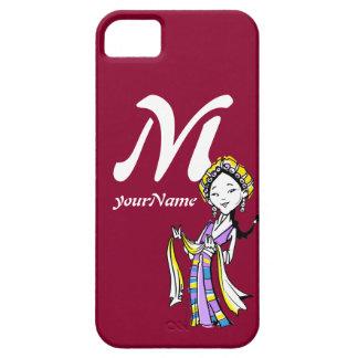 Tibétain du Thibet de monogramme Coque iPhone 5