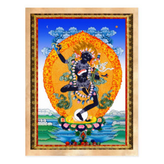 Tibétain oriental frais Nairatmya de Vajravarahi Carte Postale
