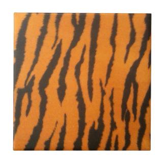 Tigre barré petit carreau carré