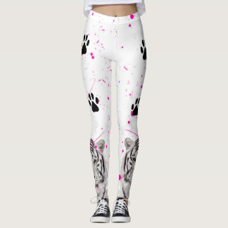 Tigre blanc 2 leggings