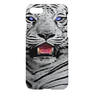 Tigre blanc, cas de l'iphone 7 coque iPhone 7