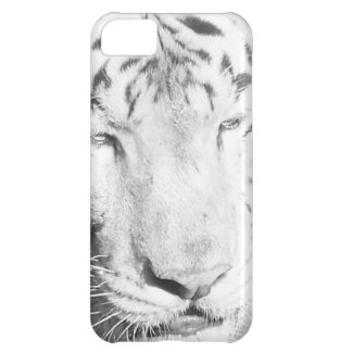 Tigre blanc coque iPhone 5C
