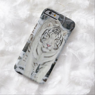 Tigre blanc coque iPhone 6 barely there