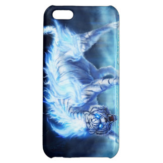 tigre blanc étuis iPhone 5C