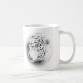 Tigre blanc mug blanc