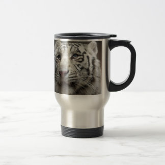 Tigre blanc mug de voyage