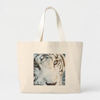 Tigre blanc sac en toile jumbo
