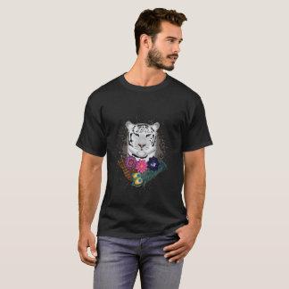 Tigre blanc t-shirt