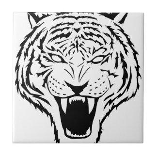 tigre petit carreau carré