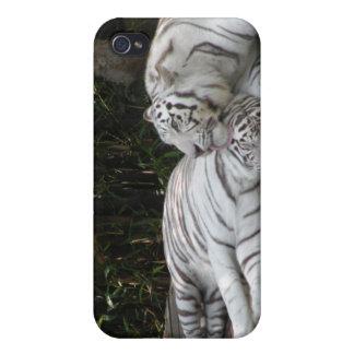 Tigres blancs étui iPhone 4/4S