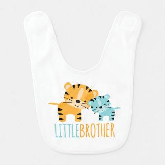 Tigres de petit frère bavoir de bébé