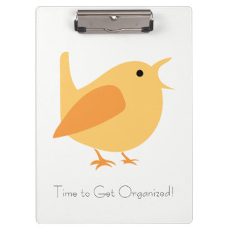 Tijd om het Georganiseerde Klembord van de Vogel