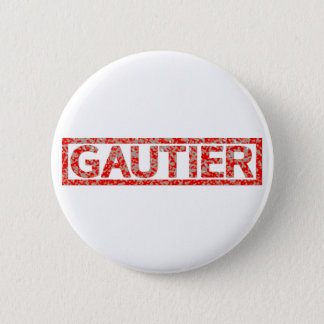 Timbre de Gautier Badge Rond 5 Cm